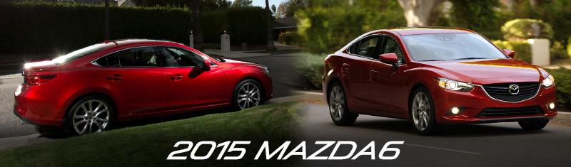 2015 Mazda6 Specs - Header