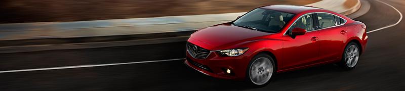 2015 Mazda6 Driving Highway