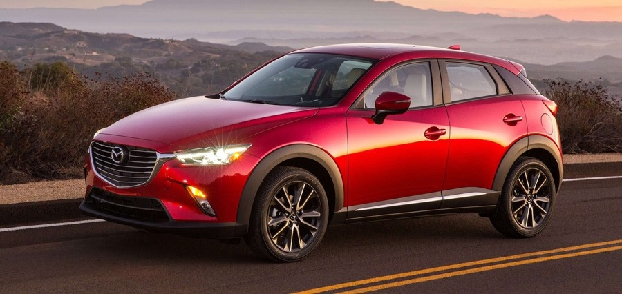 New Mazdas - 2016 Mazda CX-3
