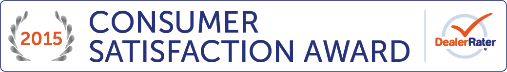DealerRater 2015 Consumer Satisfaction Award