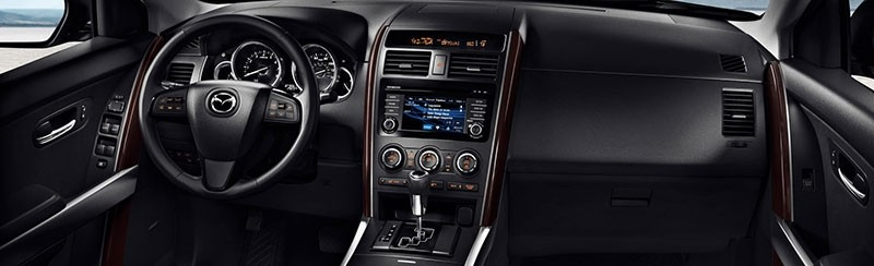 2015 CX-9 Dashboard and Infotainment