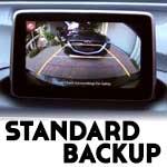 Standard Backup Camera on Mazdas