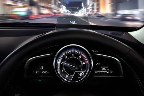 Mazda Active Driving Display - Heads Up Display