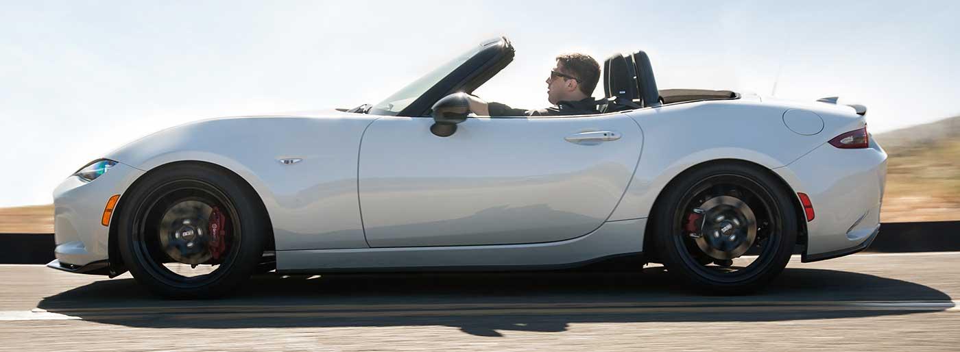 2016 Mazda Miata Performance Specs