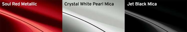 2016 Mazda Miata Paint Chart