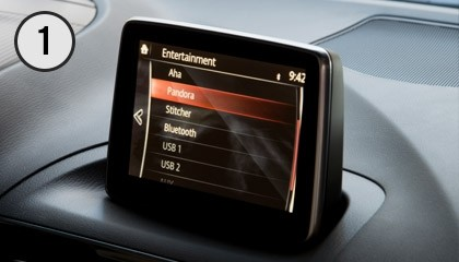 Mazda Connect™ Infotainment System Screen