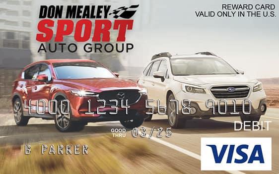 Don Mealey Reward Car