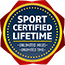 Sport Certified Lifetime Seal 65x65