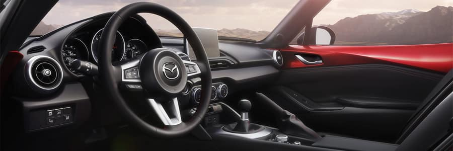 2018 mazda mx-5 interior technology