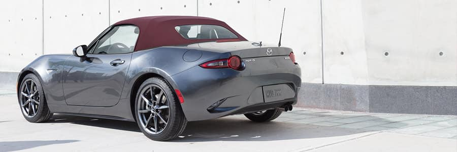 2018 Mazda MX-5 Miata Cherry Red Soft Top