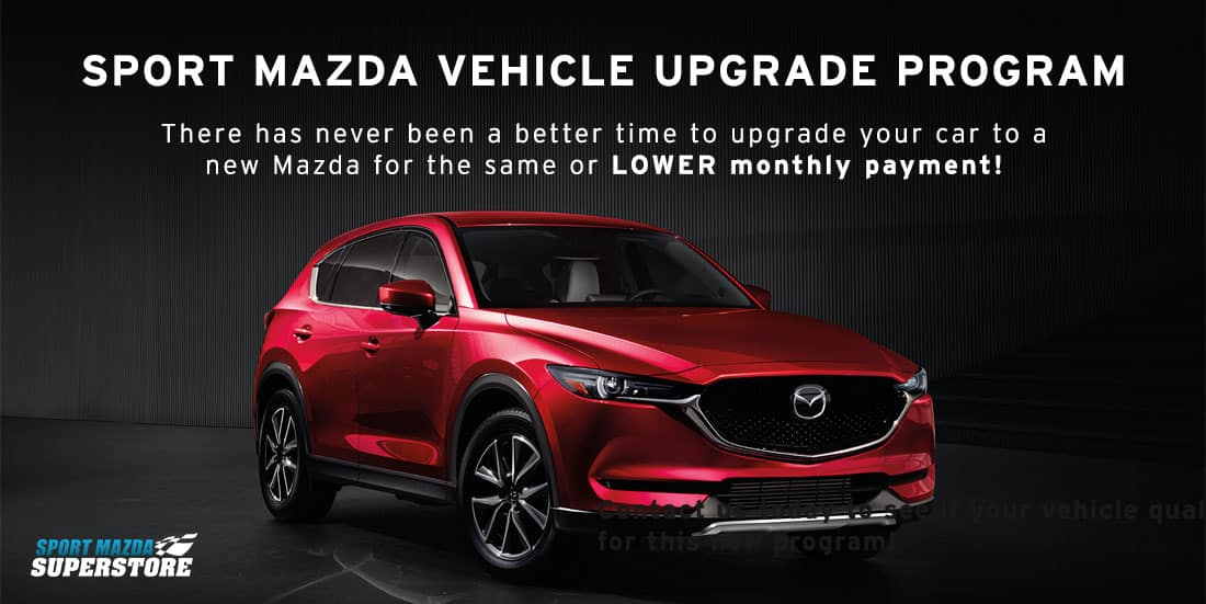 Sport Mazda Vehicle Upgrade Program | There has never been a better time to upgrade your car to a new Mazda for the same or lower monthly payment! | Red 2018 Mazda CX-5 Grand Touring pictured