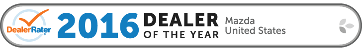 DealerRater 2016 U.S. Mazda Dealer of the Year