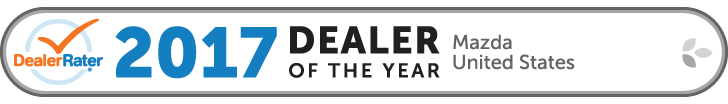 DealerRater 2017 U.S. Mazda Dealer of the Year