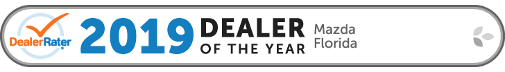 DealerRater 2019 Florida Mazda Dealer of the Year