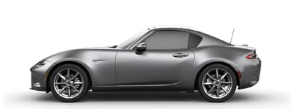 Machine Gray 2019 Mazda MX-5 Miata RF | Sport Mazda Orlando, FL