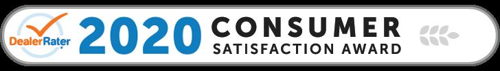 DealerRater 2020 Consumer Satisfaction Award