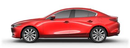 Soul Red 2020 Mazda3 Sedan | Sport Mazda Orlando, FL