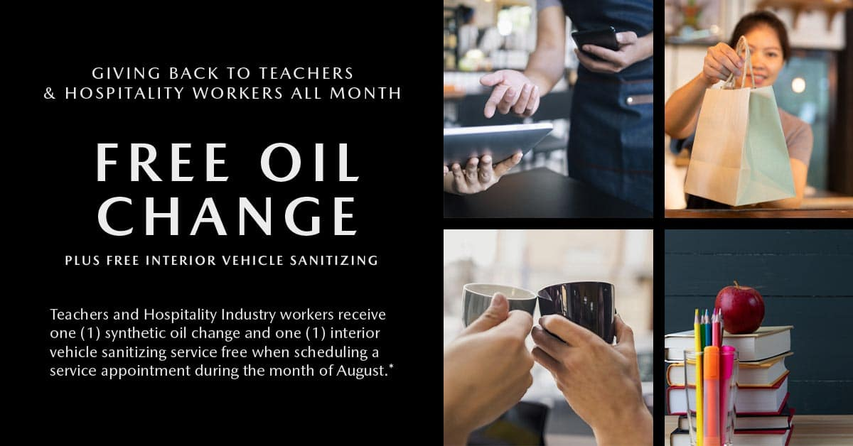 Free Oil Change Plus Free Interior Vehicle Sanitizing at Sport Mazda in Orlando, FL 32837