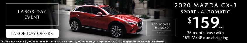 2020-Mazda-CX-3-Lease-Labor-Day-Sport-Mazda-South-Orlando-32837