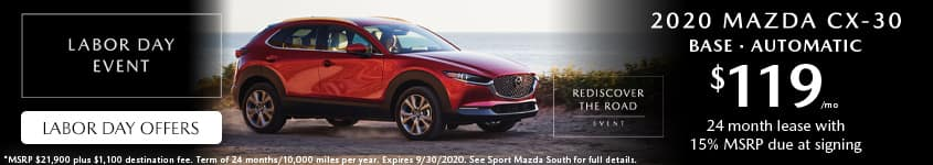2020-Mazda-CX-30-Lease-Labor-Day-Sport-Mazda-South-Orlando-32837