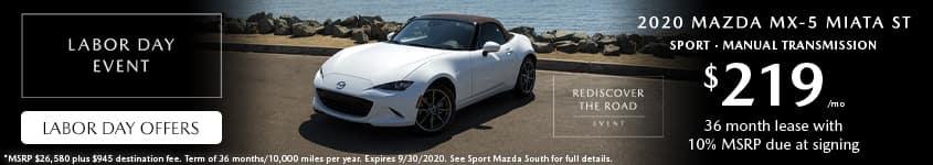 2020-Mazda-MX-5-Miata-ST-Lease-Labor-Day-Sport-Mazda-South-Orlando-32837