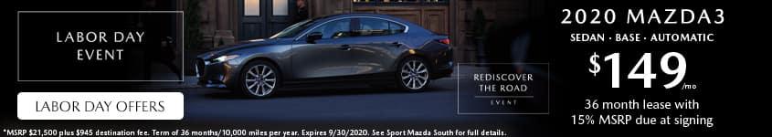 2020-Mazda3-Sedan-Lease-Labor-Day-Sport-Mazda-South-Orlando-32837