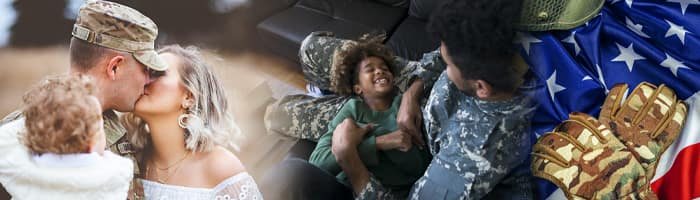 Military Families together