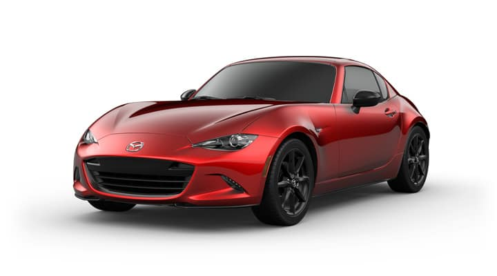 2021 Mazda MX-5 Miata RF Club Soul Red