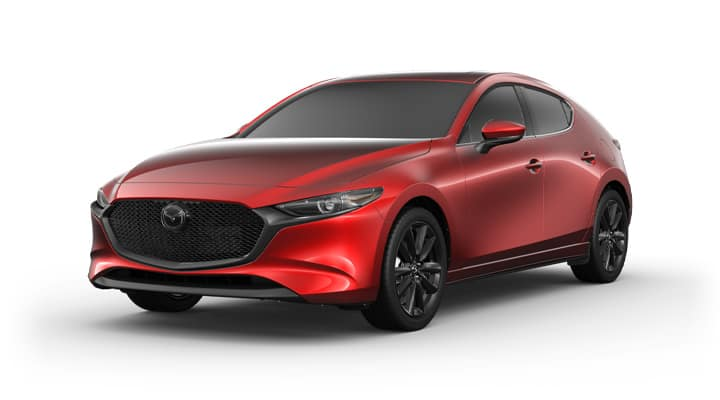 2021 Mazda3 Hatchback Base Soul Red