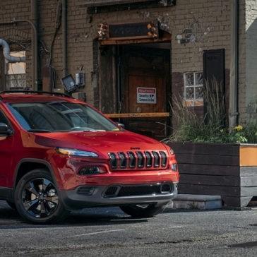 2017 Jeep Cherokee Exterior
