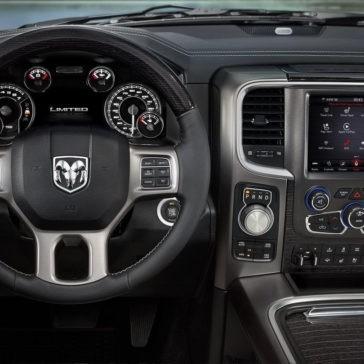 2018 Ram 1500 interior