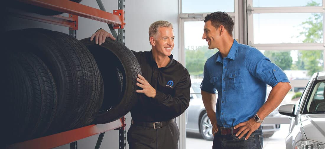 Chrysler tires service