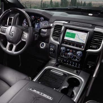 2018 RAM 2500 interior cabin