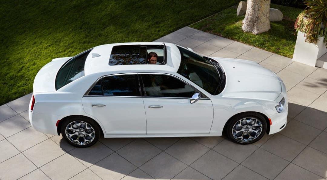 man in 2018 Chrysler 300