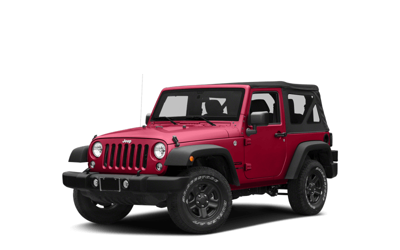 2018 Jeep Wrangler JK red exterior