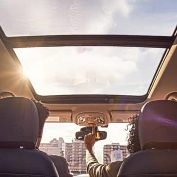 panoramic roof of 2018 Jeep Compass