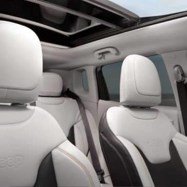 seating in 2018 Jeep Compass