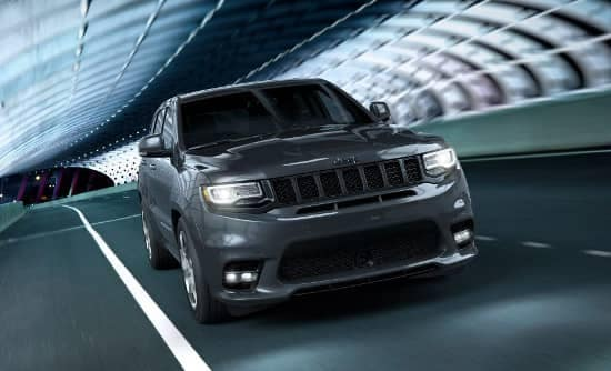 2018 Jeep Grand Cherokee Trackhawk on street