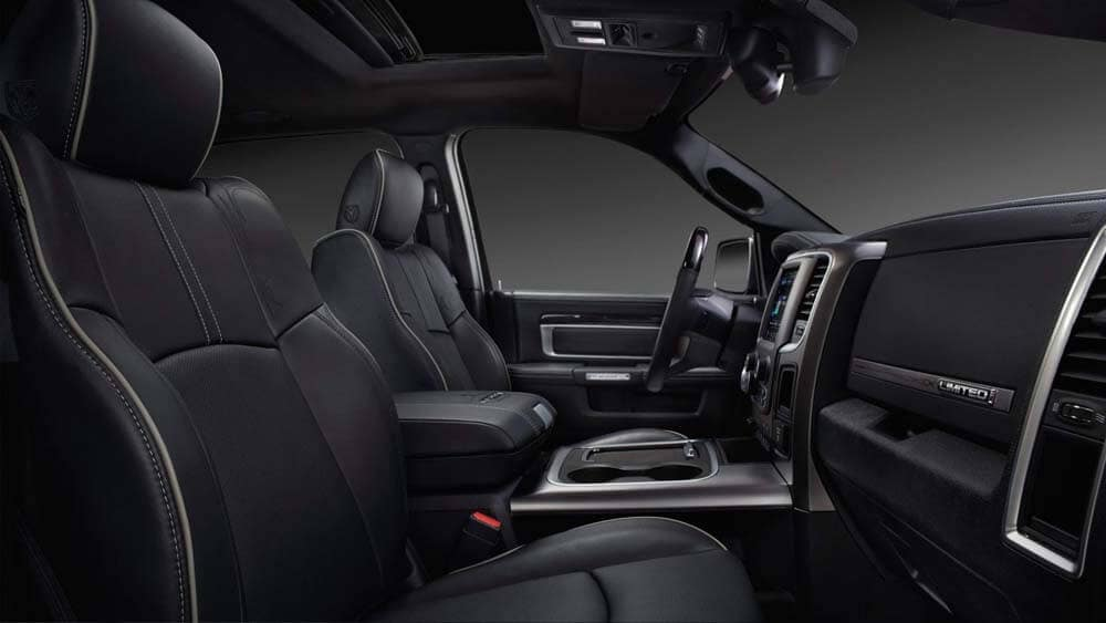 2018 Ram 2500 Limited Interior Cabin