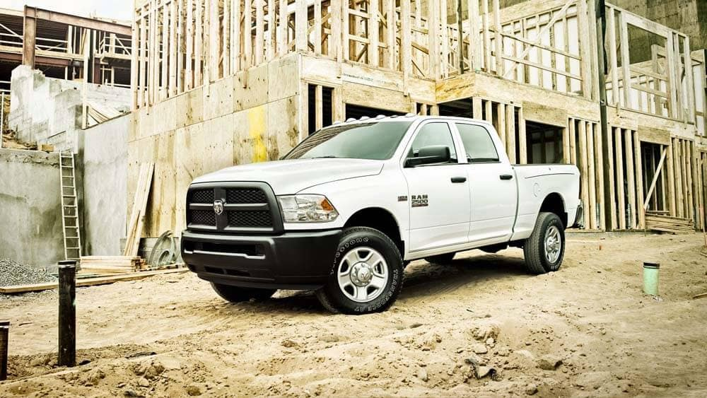 2018 Ram 2500 Tradesman on commercial site