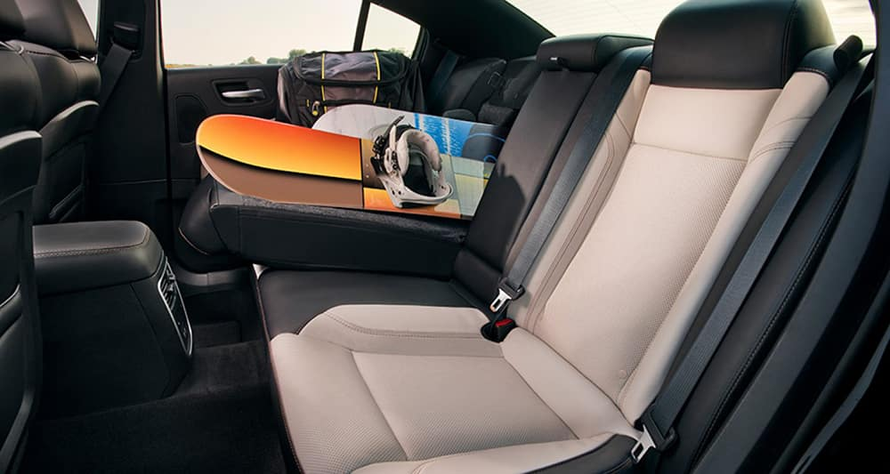 2018 Dodge Charger interior rear seats