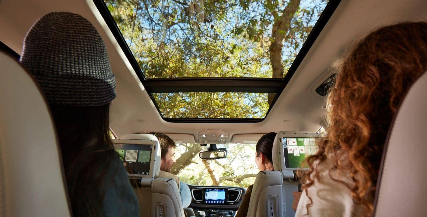 2018 Chrysler Pacifica Interior Backseat View
