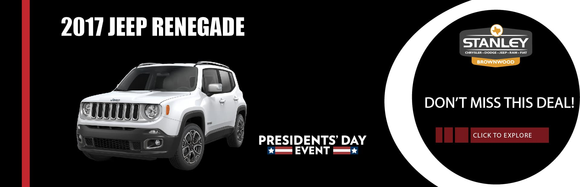 2017 Jeep Renegade Don't Miss This Deal