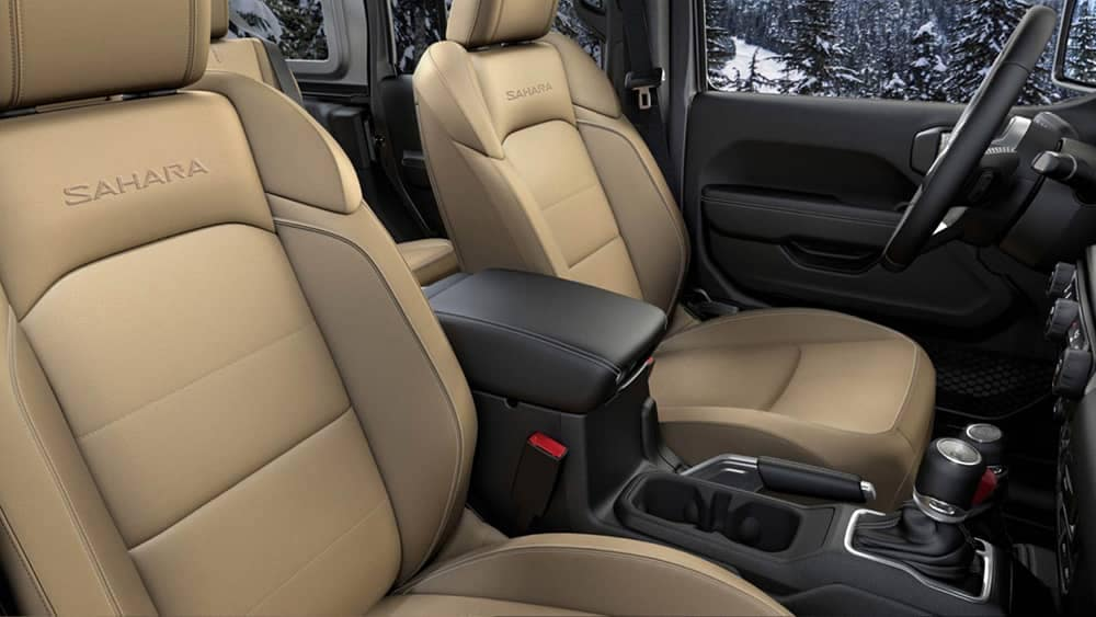 2018 Jeep Wrangler front seats