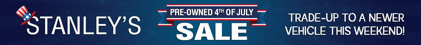 Pre 4th of July Sale