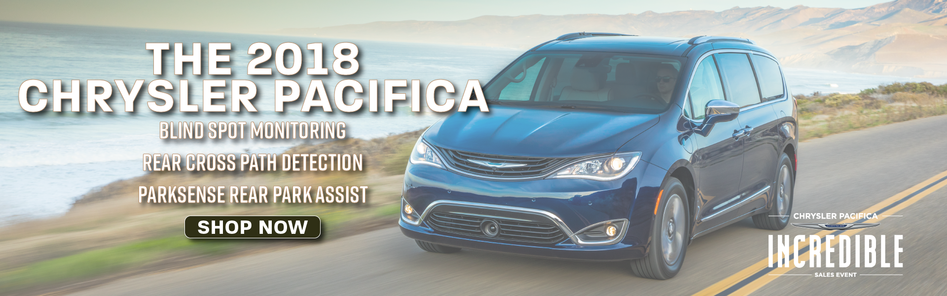 2018 Chrysler Pacifica Banner