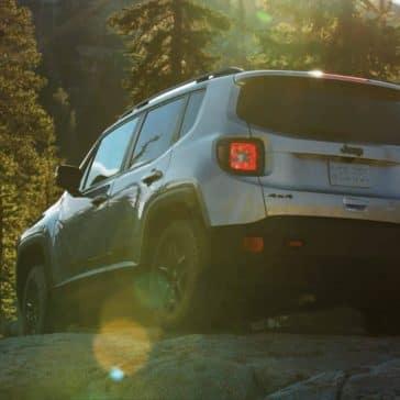2018 Jeep Renegade rear exterior