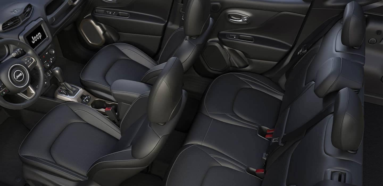 interior cabin in 2018 Jeep Renegade