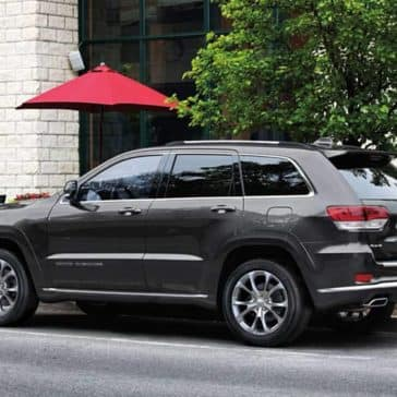 2019 Jeep Grand Cherokee Parked