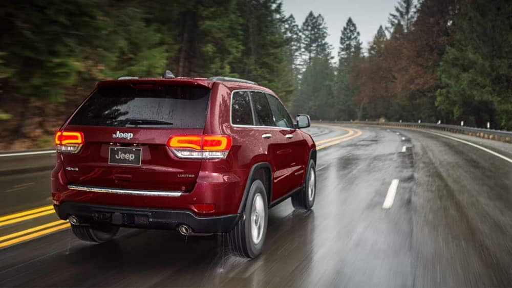 2019 Jeep Grand Cherokee Rear
